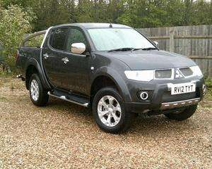 2012 Mitsubishi L200 Barbarian Double Cab LB Diesel 6 Speed Automatic