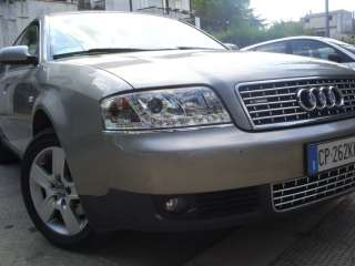 Fari Audi A4 anno 00 al 04 led devil eyes DAYLINE sline