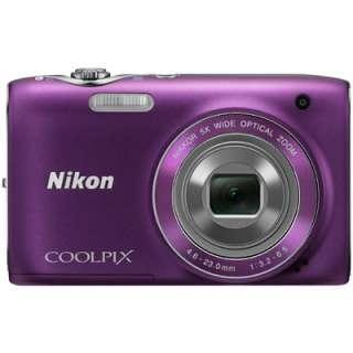 NIKON COOLPIX S3100 DIGITAL CAMERA * PURPLE * 0018208921553