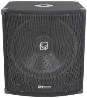 QTX QT15S 15 300W Bass Bin Subwoofer Speaker