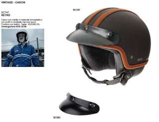 CASCO VINTAGE RACING JET OMP RETRO NERO om.ECE 22.05