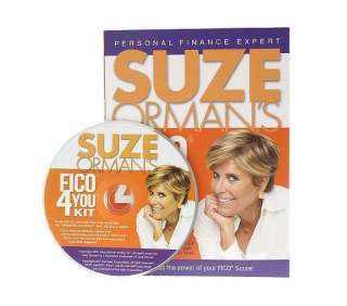 Suze Ormans FICO 4 You Kit   QVC