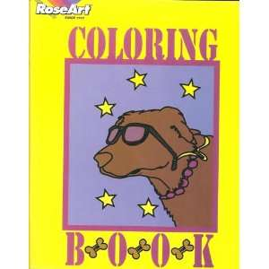 RoseArt Coloring Book: Rose Art Industries: Books