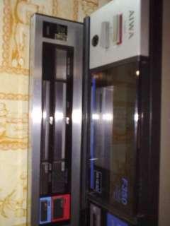 Aiwa stereo cassette deck ad f350e,perfetto stato funzionante affare