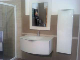 109x36x25 prezzo riferito solo a mobile colonna lavabo e specchio