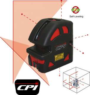 CPI LP106 Cross Line and 6 Point Palm Laser Level