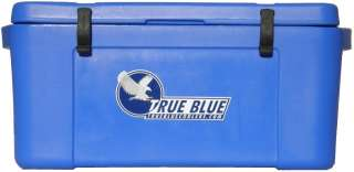 NEW Premium 55Qt Blue Ice Chests  Cooler Boxes  True Blue Coolers