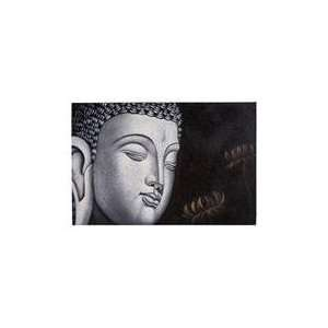Buddha Painting: Home & Kitchen