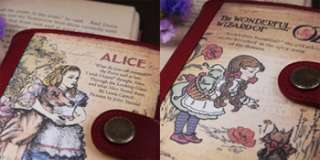 Womens Leather Purse Wallet Dorothy&Alice ver.2