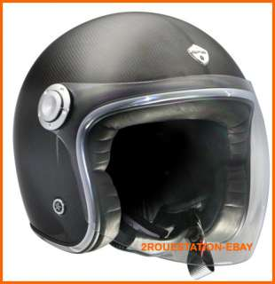CASQUE HELMET HELM CASCO GPA JET AIR CARBONE CARBONIO CARBON XS
