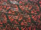 YARDS STRETCH POLY LYCRA FABRIC GREATRED BLACK SILVER SEQUINS