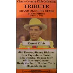 Grand Ole Opry Stars of the Fifties VHS   Volume 5 of 12   Ernest Tubb