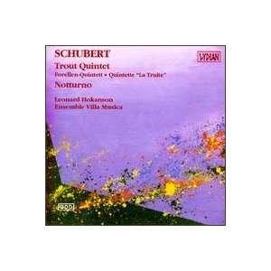 Franz Schubert: Trout Quintet/Notturno: Schubert, Leonard