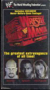WWF Wrestling Mike Tyson Triple HHH Stone Cold 1998 VHS