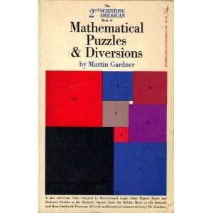 Book of Mathematical Puzzles & Diversions: Martin Gardner: Books