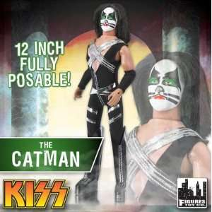 12 inch Retro Action Figure Doll Series One   The Catman Peter Criss