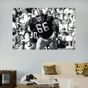 Ray Nitschke Fathead Wall Graphic In Your Face Mural