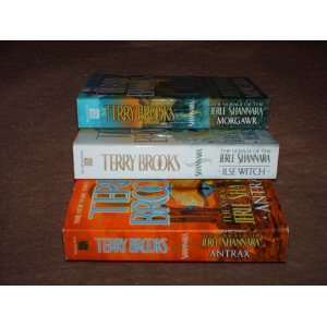Voyage of the Jerle Shannara (3 Volumes) Terry Brooks Books