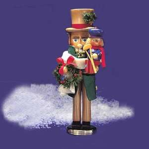 Cratchit with Tiny Tim Christmas Nutcracker #ES1820: Home & Kitchen