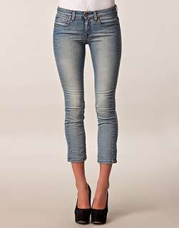 Niki Low Lt Mud Wash Ancle Jeans   Filippa K   Blue   Jeans   Clothing