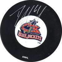 Rick Nash Columbus Blue Jackets Autographed Hockey Puck