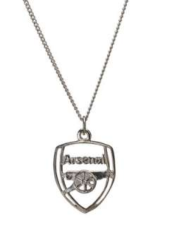 Arsenal Football Club Sterling Silver Pendant Very.co.uk
