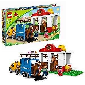LEGO DUPLO Horse Stables Set