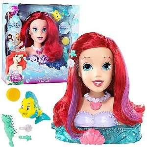 Disney Princess Little Mermaid Ariel Styling Head by Mattel