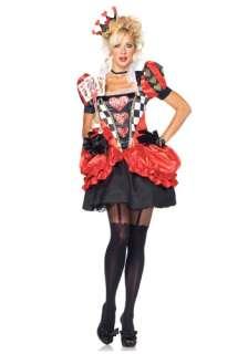 Sexy Evil Red Queen Costume   Leg Avenue Alice in Wonderland Costumes