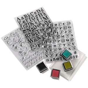 Anna Griffin® Alphabet Clear Stamp Kit