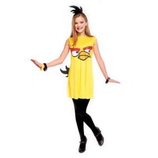 Angry Birds Yellow Bird Dress Tween Costume, 803896