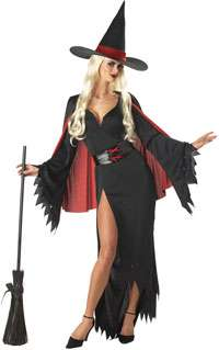 Scarlet Witch Costume   Sexy Adult Witch Costumes