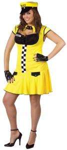 Sexy Cabbie Plus Size Costume   Plus Size Costumes