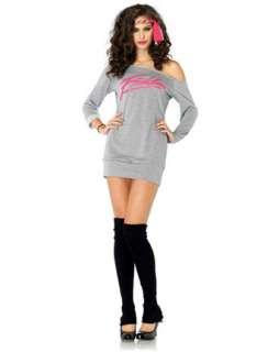 Womens Sexy Flashdance Sweatshirt Dress Costume  Wholesale TV & Movie