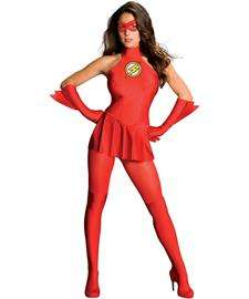 The Flash Sexy Adult Costume  Sexy Adult Superhero Costumes