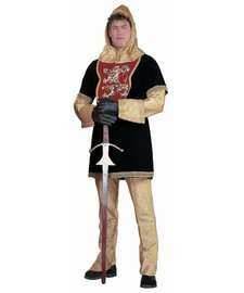 Edward II Soldier Costume  Deluxe Medieval Royal Knight Costume