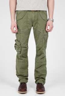 Polo Ralph Lauren  Khaki Cotton Army Cargo Pants by Polo Ralph Lauren