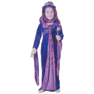 Child Velvet Renaissance Princess Costume   Middle Ages Costumes