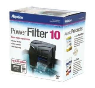 Aqueon Quiet Flow 10 Aquarium Fish Tank Power Filter