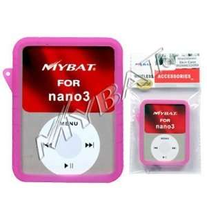 RUBBER SOFT CASE COVER for APPLE IPOD NANO 3RD GENERATION Electronics