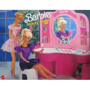 Barbie Beauty Center Playset (1991 Arco Toys, Mattel) Toys & Games