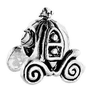 Pumpkin Carriage Beads Fits Pandora Charm Bracelet Pugster Jewelry