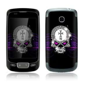 Goth Bling Skull Design Decorative Skin Cover Decal