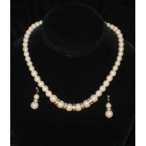 Bridal Bridesmaid Prom Tiara Crystal Rhinestone Jewelry Set Wedding