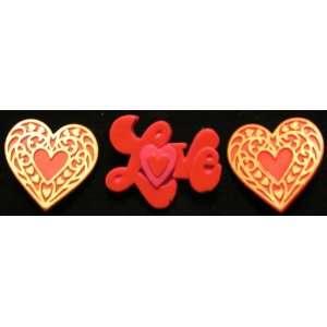 Day LOVE & HEARTS Brooches / Pins ~ Romantic Cute Retro Brooch Pin