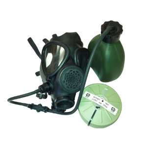 Gas Mask with Nato Filter and Hydration Canteen New