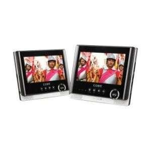 Coby 7 Dual Screen Portable DVD Player CBYTFDVD7751