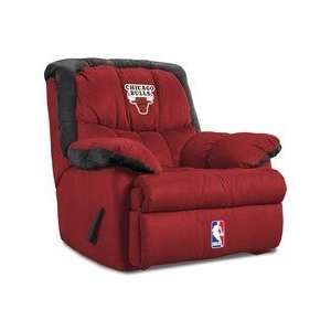 Chicago Bulls NBA Team Logo Home Team Recliner: Sports