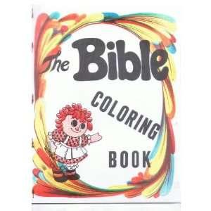 The Bible Coloring Book  Magic Trick Rev. Carl Powers Books