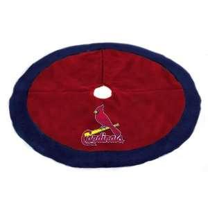 48 MLB St. Louis Cardinals Logo Christmas Tree Skirt